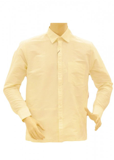 Cream Silk Shirt