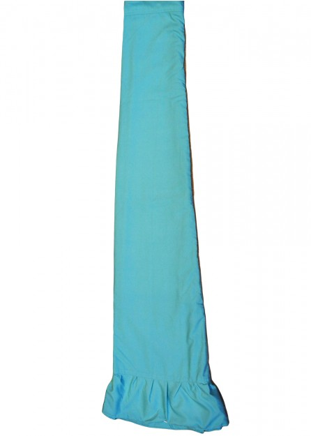 polyester Petticoat Underskirt in Aqua Blue