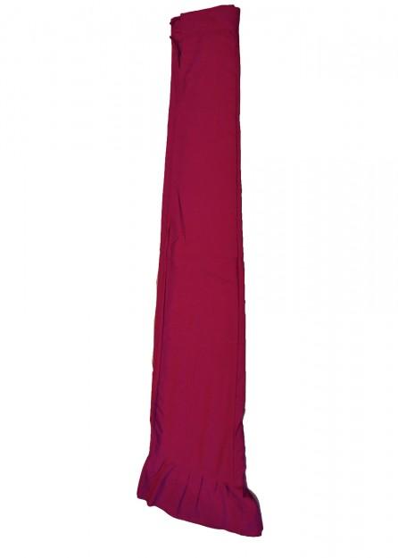 polyester Petticoat Underskirt in Magenta