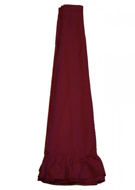 polyester Petticoat Underskirt in Maroon