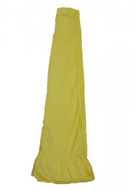 polyester Petticoat Underskirt in Lime Green