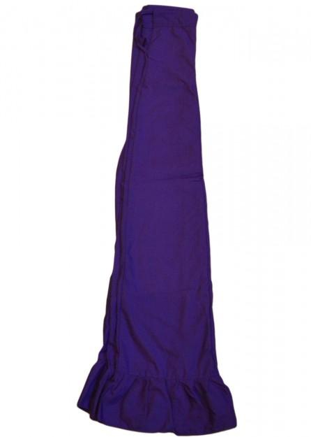 polyester Petticoat Underskirt in Royal Purple
