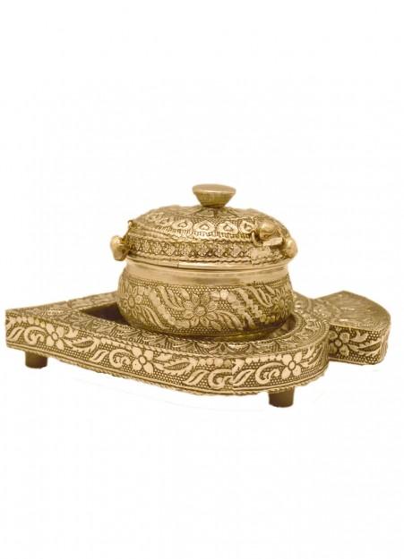 Little India Meenakari Sindoor Box with Tray