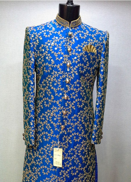 Image result for royal blue brocade jacket